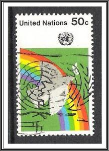UN New York #271 Dove & Rainbow Used