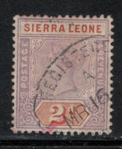 Sierra Leone 1896 Queen Victoria 2p Scott # 37 Used