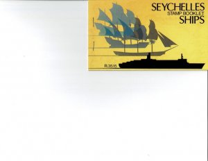 SEYCHELLES - Ships booklet complete, Sc #467 (4934)