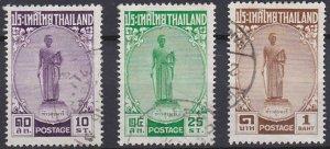 Thailand 309-311 used (1955)