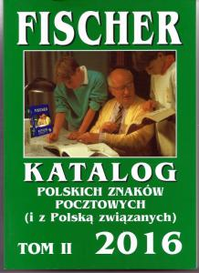 Fischer specialized catalog of Polish Philately Volume II (Tom II) NEW, 2016 ed