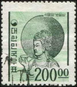 Korea SC# 373 Bodhisattva 200w Used