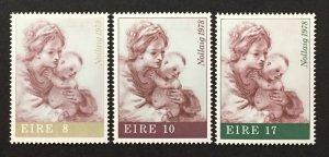 Ireland 1978 #440-2, Christmas, MNH.