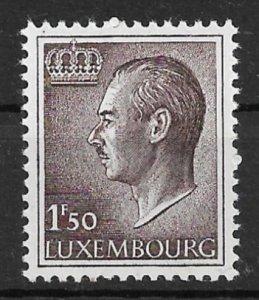 Luxembourg 1966 Grand Duke Jean 1.5f MNH**
