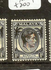 MALAYA JAPANESE OCCUPATION (P1502B) PENANG ITCHIBURI 1C SGJ69  MOG