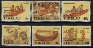 Tokelau  157-162 (6) SET, HINGED, 1988 Island Christmas