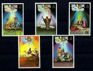 ANGUILLA - 1972 - CHRISTMAS - STAR - NATIVITY - KINGS - EGYPT - MINT - MNH SET!