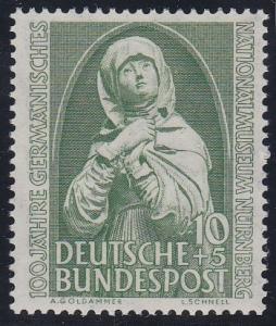 Germany B324 MNH (1952)