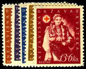 CROATIA B20-24  Mint (ID # 47779)