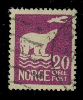 Norway #109 Used F-VF Cat$$40