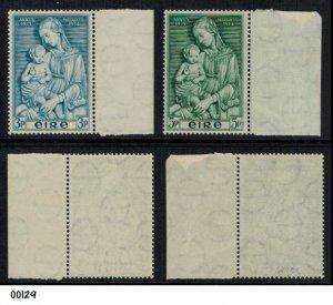 IRELAND 1954 MARIAN YEAR SG158/159 MNH