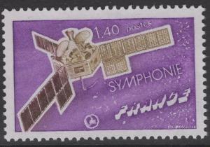 FRANCE SG2137 1976 SYMPHONIE No.1 SATELLITE MNH