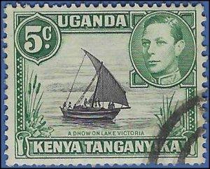 Kenya,Uganda and Tanganyika #67 1938 Used