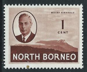 North Borneo, Sc #244, 1c MNH