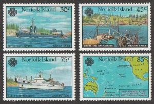 319-322,MNH Norfolk Island