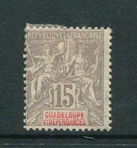 Guadeloupe #35 Mint