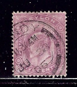 Ceylon 181 Used 1904 issue    (ap1708)