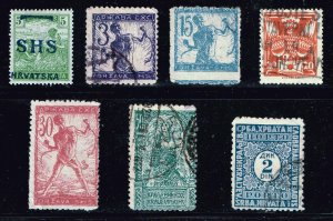 Yugoslavia Stamp  MINT AND USED STAMPS COLLECTION LOT #1