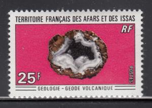Afars & Issas 1971 MNH Scott #349 25fr Volcanic geode