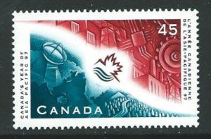 CANADA SG1745 1997  YEAR OF ASIA PACIFIC MNH