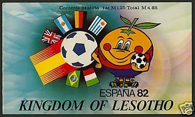 Lesotho 363-4 Booklet MNH Sports, Football, Soccer