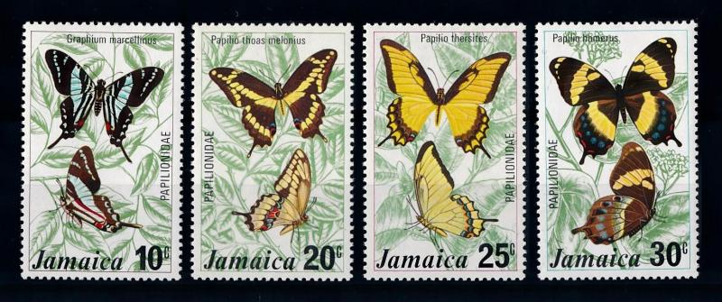 [71110] Jamaica 1975 Insects Butterflies  MNH