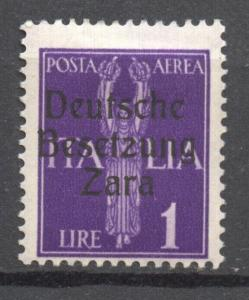 German Occupation Zara, Mi.27, MLH,