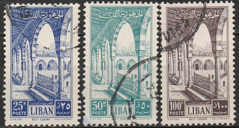 Lebanon #282-4  F-VF Used  CV $16.75  (A17925)
