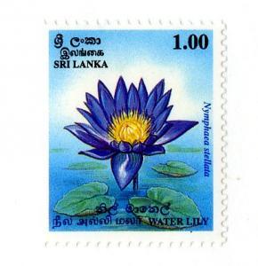 SRI LANKA 1115 MNH SCV $1.25 BIN $.75 FLOWERS