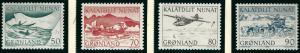 Greenland Slania Scott 78-81  VF MNH SCV $1.50...Nice!