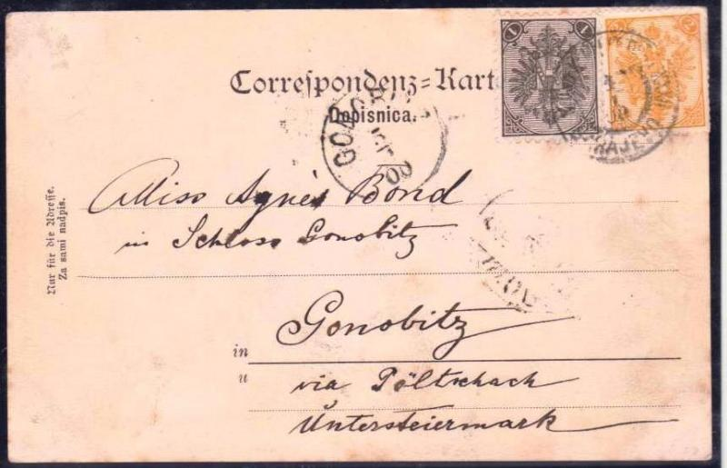 AUSTRIA BOSNIA  1900. mixed currency florin and crown SARAJEVO ..see description