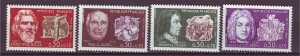 J25157 JLstamps 1968 france mh #b417-20 famous people