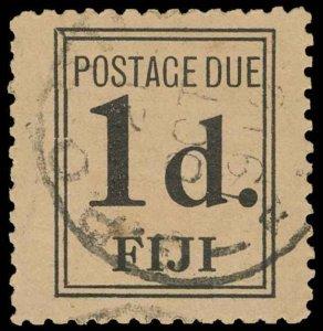 Fiji Scott J3 Gibbons D2 Used Stamp