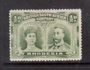 Rhodesia #101a VF Mint