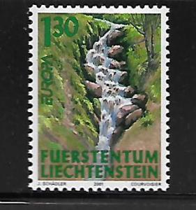 LEICHENSTEIN 1199 MNH EUROPA 2001 ISSUE