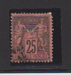 FRANCE #93 STAMP USED LOT#F11