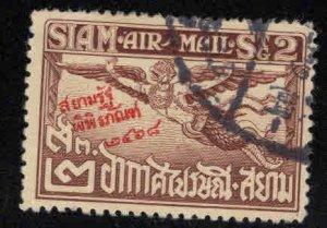 THAILAND Scott C1 Garuda airmail stamp Used with Museum overprint
