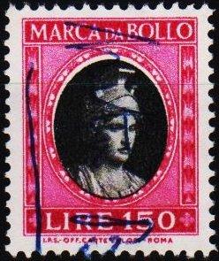 Italy. Date? 150L (Marca Da Bollo).Fine Used