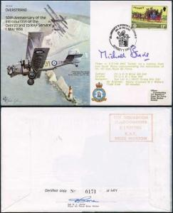 B20c 50th Ann Intro of Overstand to RAF Service Signed by Sir N. Beavis (D)