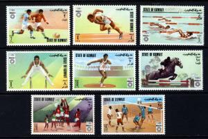 Kuwait 1972 Summer Olympic Games Sports Munich Football Soccer Volleyball Stamps