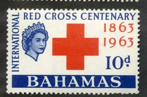 BAHAMAS 184 MH SCV $2.00 BIN $.85 RED CROSS