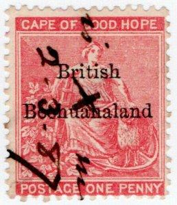 (I.B) British Bechuanaland Revenue : Duty Stamp 1d