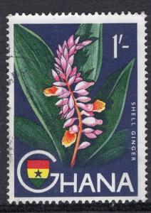 Ghana   #57  1959   used  1s. shell ginger