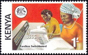 Kenya # 57 mnh ~ 1sh Cordless Switchboard Operators