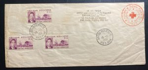 1952 Saigon Vietnam First Day Cover FDC 40th Anniversary Of His Majesty