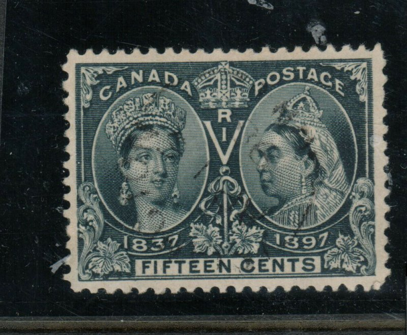 Canada #58 Very Fine Used With CDS Cancel