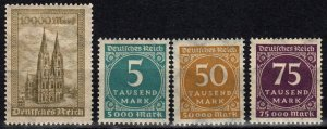 Germany #238, 238A-240  MNH   (X246)