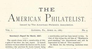 Doyle's_Stamps: APS Members' Delight- The American Philatelist, Vol. 1, No. 4
