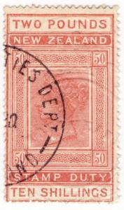 (I.B) New Zealand Revenue : Stamp Duty £2 10/-