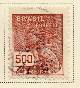 Brazil 1920-21 Early Issue Fine Used 500r. NW-12021